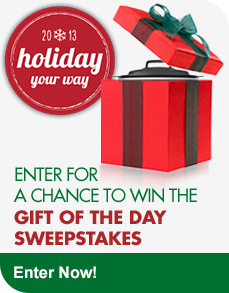 Gift of the Day Sweepstakes Enter Now