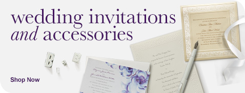 Wedding Invitations & Accessories Shop Now