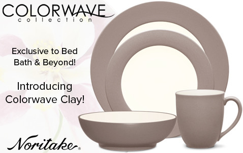 Noritake Introducing Colorwave Clay