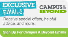 Sign up for campus and beyond email updates
