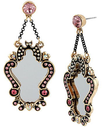 A AND D MIRROR DROP EARRING