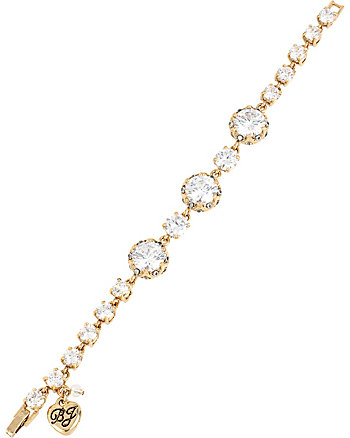 ALL THAT GLITTERS CRYSTAL AND GOLD FLEX BRACELET