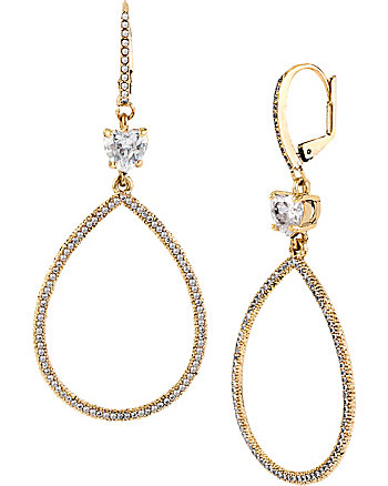 ALL THAT GLITTERS GYPSY HOOP EARRINGS