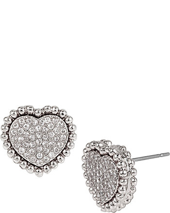 ALL THAT GLITTERS HEART STUDS