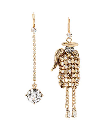 ANGELS AND WINGS ANGEL DOLL MIS MATCH EARRING