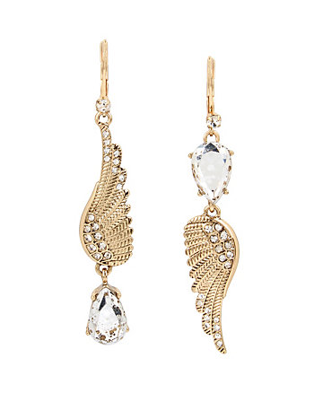 ANGELS AND WINGS FEATHER MIS MATCH EARRING