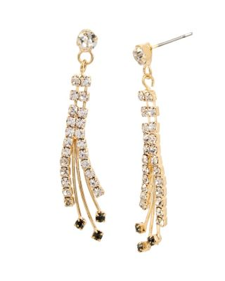ANGELS AND WINGS SPRAY EARRING CRYSTAL
