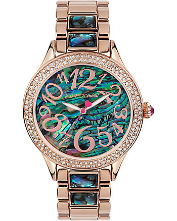AU NATURAL ABALONE DETAILED WATCH