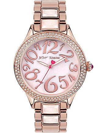 AU NATURAL MOTHER OF PEARL DETAILED WATCH