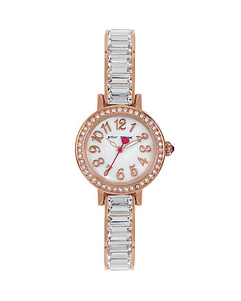 BAGUETTE BLING WATCH
