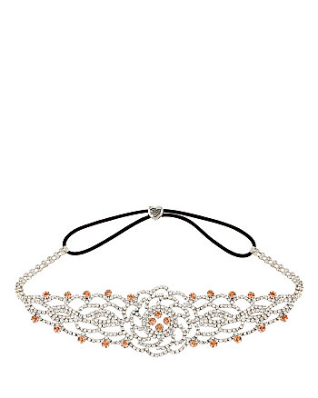 BALLERINA ROSE CRYSTAL HEADBAND