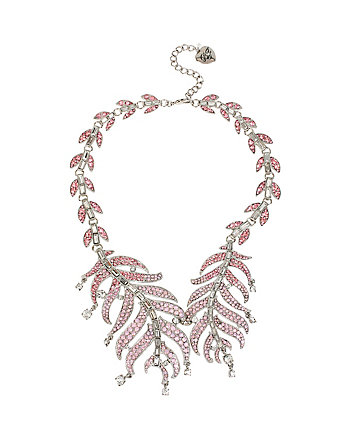 BALLERINA ROSE FEATHER COLLAR