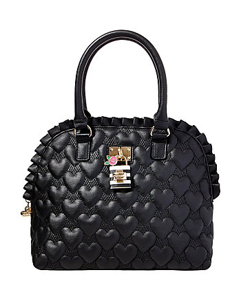 BE MY FRILLS DOME SATCHEL