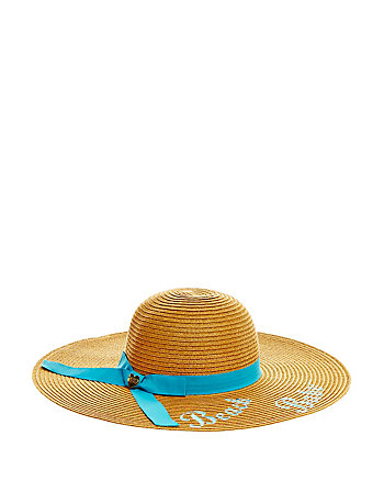 BEACH BABE FLOPPY HAT