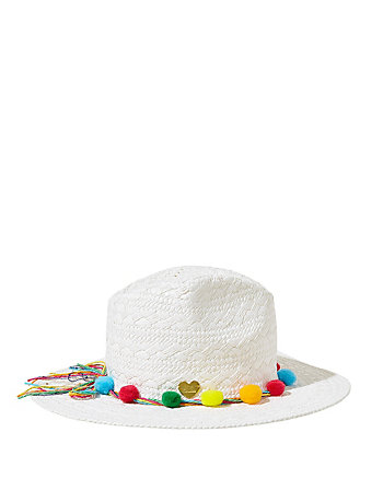 BEACHIN BETSEY WIDE FEDORA