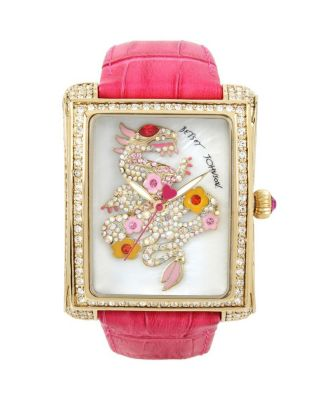 BEAUTIFUL DRAGON WATCH PINK