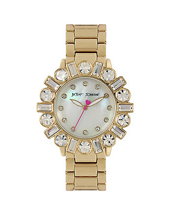 BEDAZZLE BEAUTY GOLD WATCH