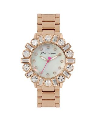 BEDAZZLE BEAUTY ROSEGOLD WATCH ROSE GOLD