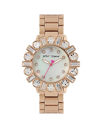 BEDAZZLE BEAUTY ROSEGOLD WATCH