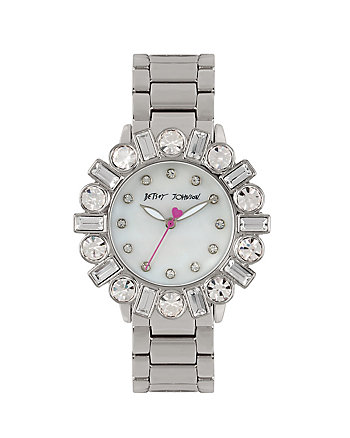 BEDAZZLE BEAUTY SILVER WATCH