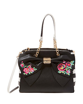 BELLE ROSE SATCHEL