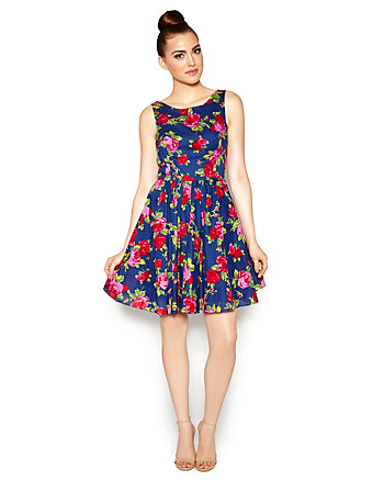BEST BETSEY FLORAL DRESS