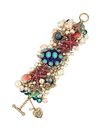 BETSEY AND THE SEA BAUBLE BRACELET