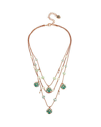 BETSEY AND THE SEA ILLUSION NECKLACE