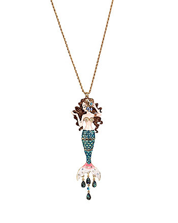 BETSEY AND THE SEA MERMAID PENDANT