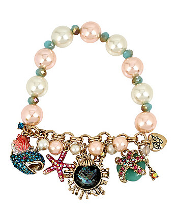 BETSEY AND THE SEA STRETCH BRACELET