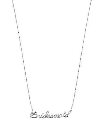 BETSEY BLUE BRIDESMAID PENDANT