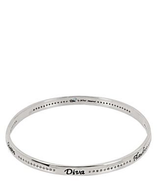 BETSEY BLUE FLAWLESS DIVA BANGLE CRYSTAL