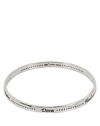 BETSEY BLUE FLAWLESS DIVA BANGLE