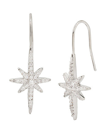 BETSEY BLUE STARBURST EARRINGS