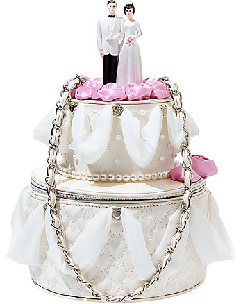 BETSEY BLUE WEDDING CAKE BAG