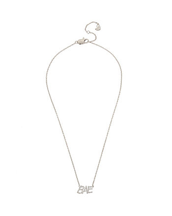 BETSEY BLUE WORD PLAY BAE PENDANT