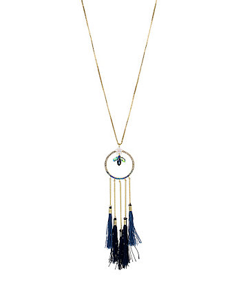 BETSEY BLUES DREAMCATCHER NECKLACE