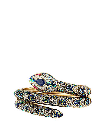 BETSEY BLUES SNAKE CUFF