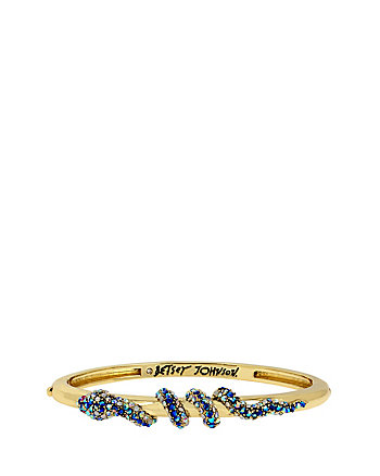 BETSEY BLUES SNAKE HINGE BANGLE