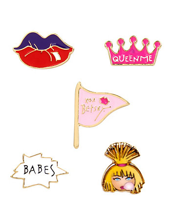 BETSEY GIFTING BJ BABE PIN SET