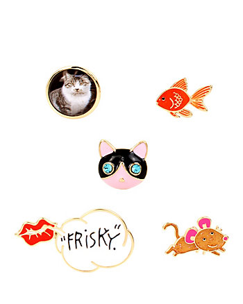 BETSEY GIFTING CRITTER PIN SET
