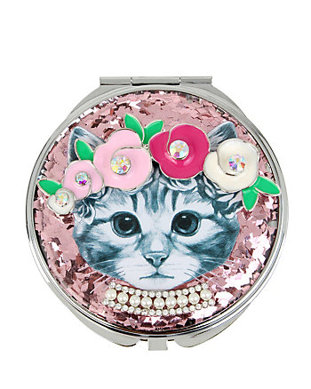BETSEY GIFTING KITTY COMPACT