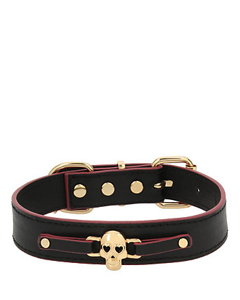 BETSEY GIFTING SKULL DOG COLLAR