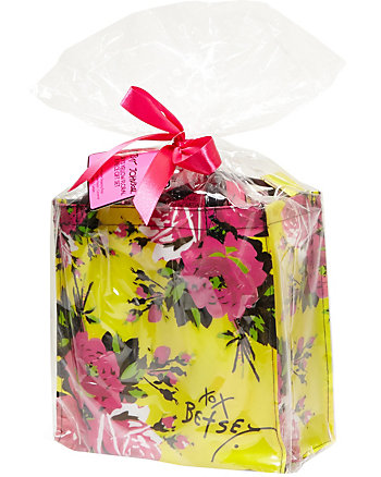 BETSEY YELLOW FLORAL 6 PIECE GIFT SET