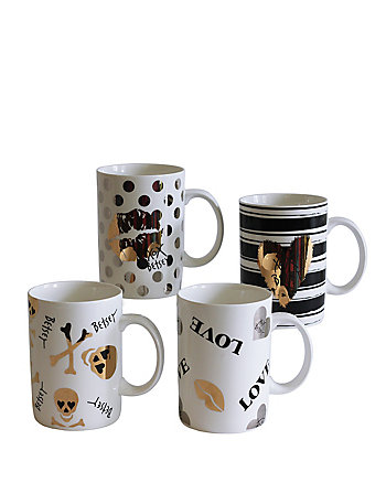 BETSEYFIED SET OF FOUR MUGS