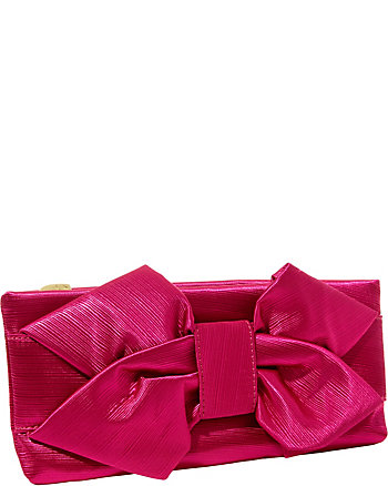 BETSEYS BIG BOW CLUTCH