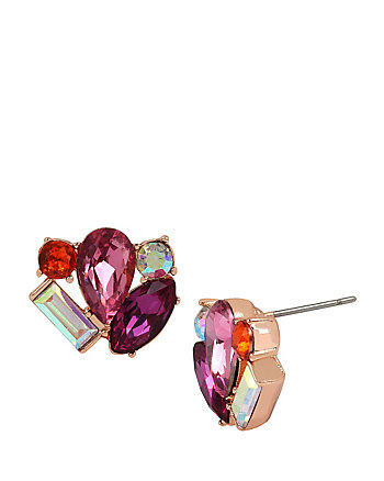 BETSEYS BOAT HOUSE CLUSTER STUD EARRINGS