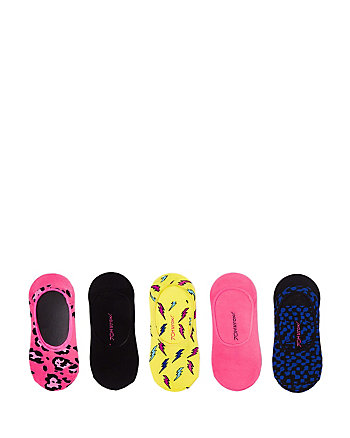 BETSEYS BOLTS FOOTIE FIVE PACK