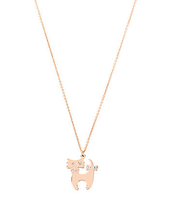 BETSEYS CHARMING CAT PENDANT