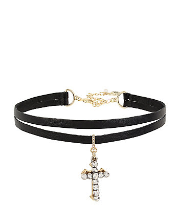 BETSEYS CROSS CHOKER